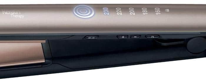 température lisseur remington S8590