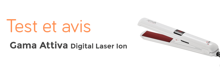 test et avis gama attiva digital Laser ion