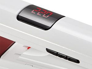 thermostat digital et touches gama attiva digital laser ion