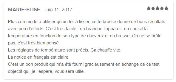 brosse lissante Madame Paris edition miracle