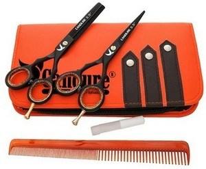 Ciseaux de coiffure kit candure