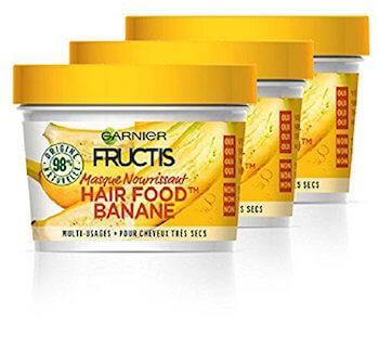 garnier fructis masque capillaire food hair banane