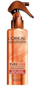 loreal brume thermo protectrice lissante